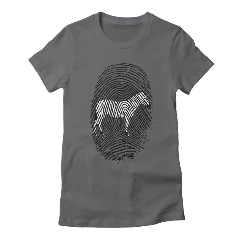 Each Zebra Has It's Own Identity Women's Fitted T-Shirt by RL76