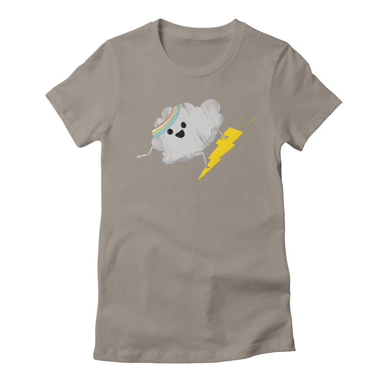 Fun in the Sky Women's Fitted T-Shirt by RL76