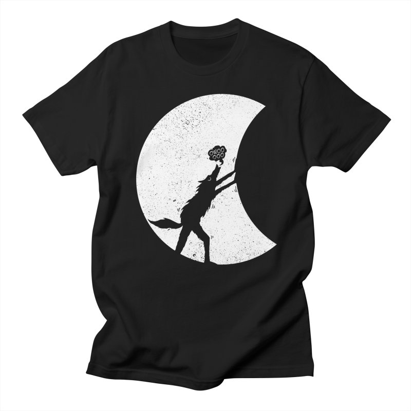 Werewolf Moonlight Men's Regular T-Shirt by RL76