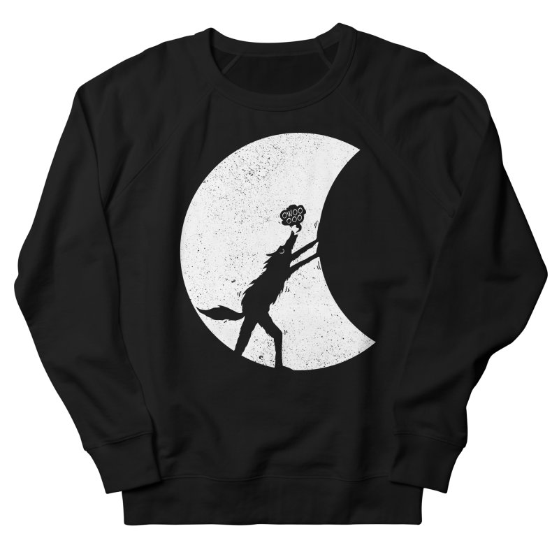 Werewolf Moonlight Women's French Terry Sweatshirt by RL76