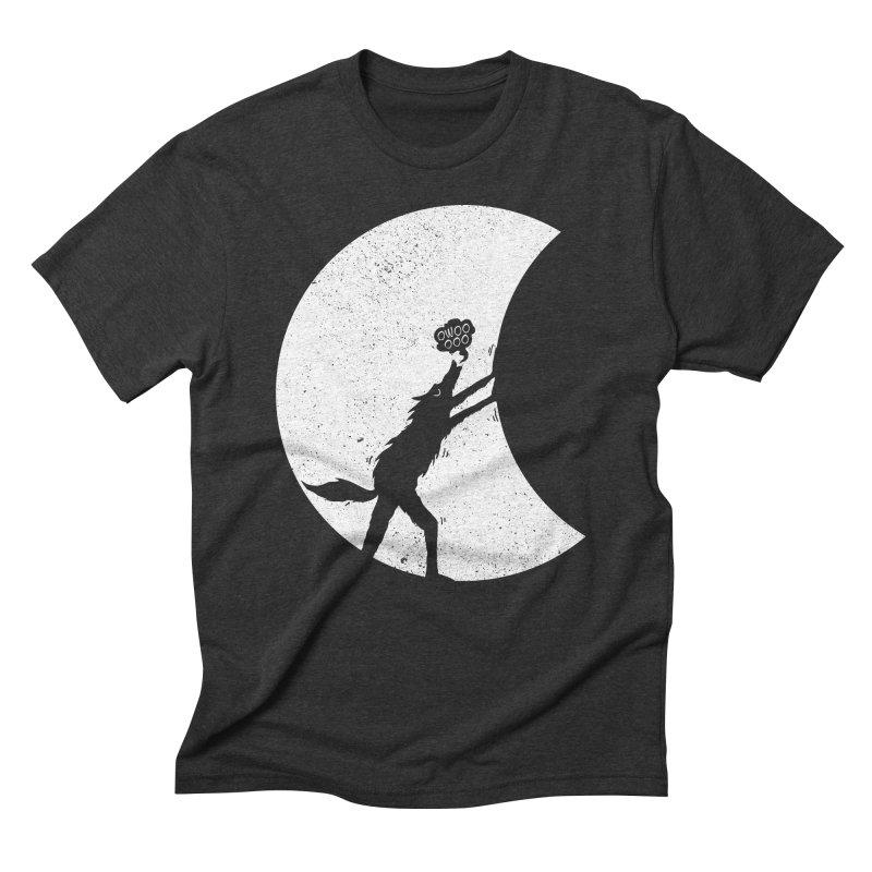 Werewolf Moonlight Men's Triblend T-Shirt by RL76