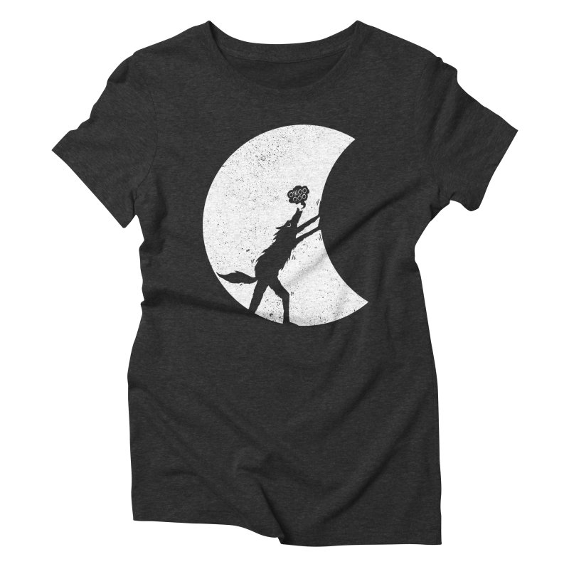 Werewolf Moonlight Women's Triblend T-Shirt by RL76