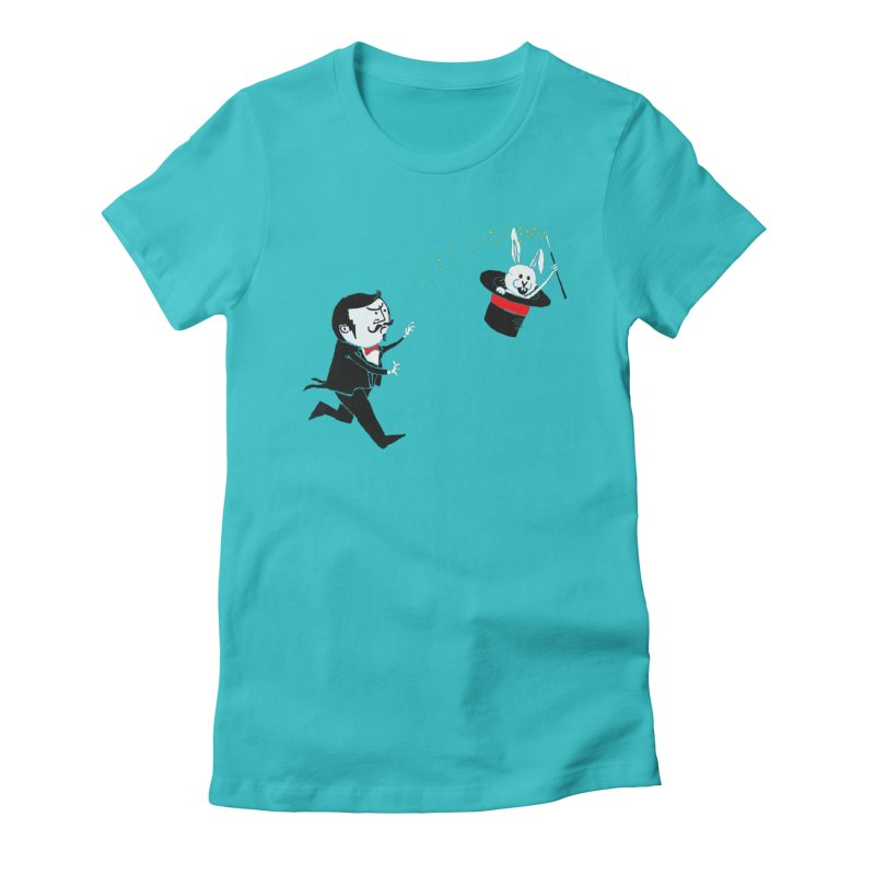 Mr. Magic Women's Fitted T-Shirt by RL76