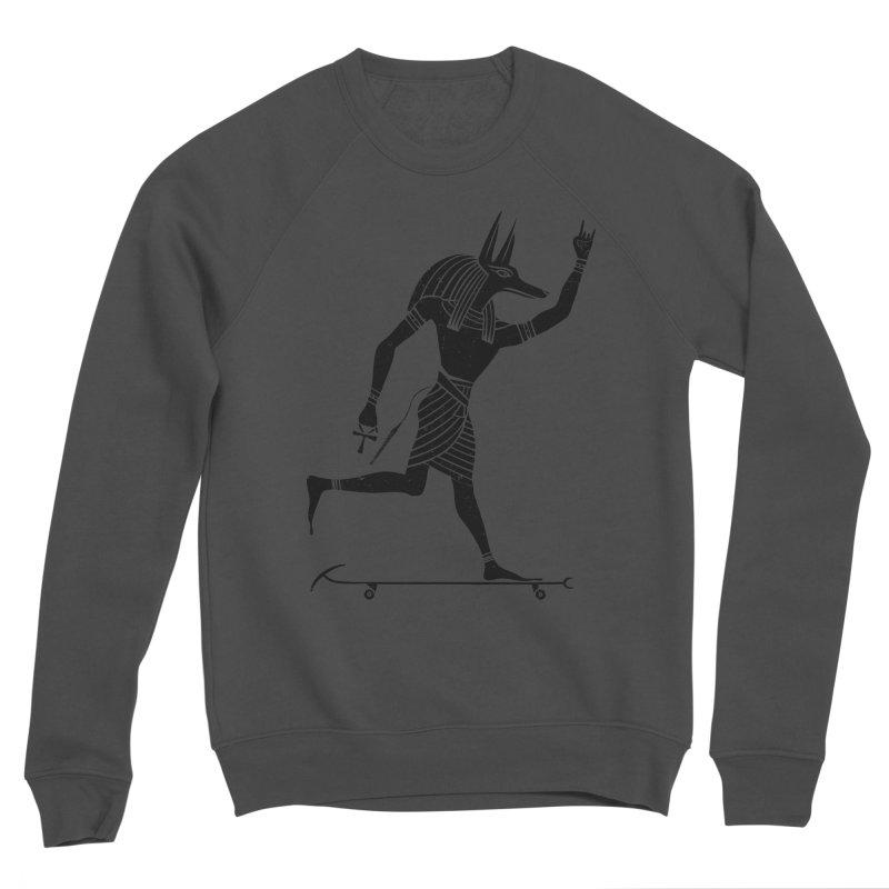 Run Dog Run Men's Sponge Fleece Sweatshirt by RL76