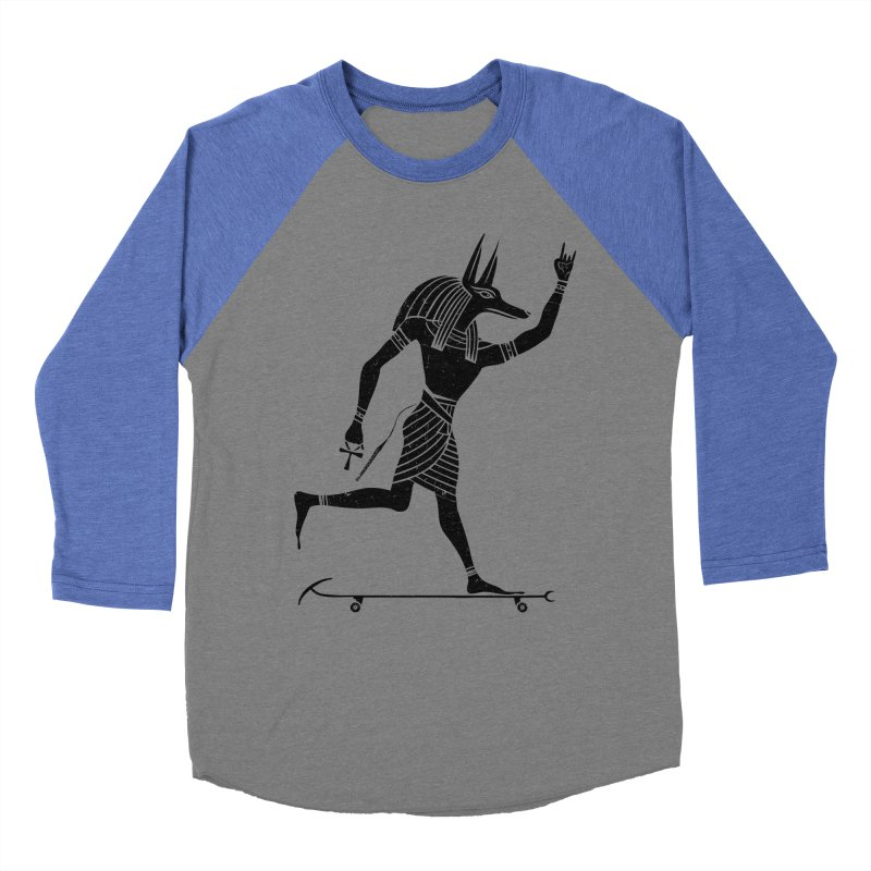 Run Dog Run Men's Baseball Triblend Longsleeve T-Shirt by RL76