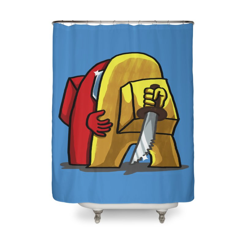 I miss you Home Shower Curtain by RL76