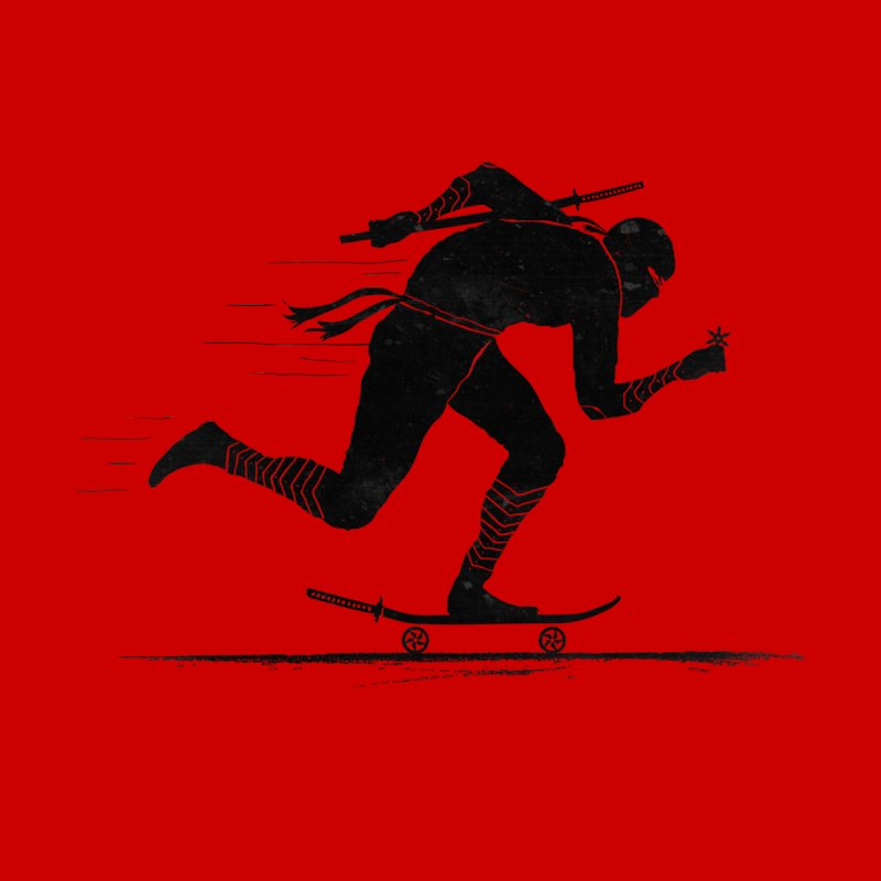 NINJA SKATER Women's V-Neck by RL76