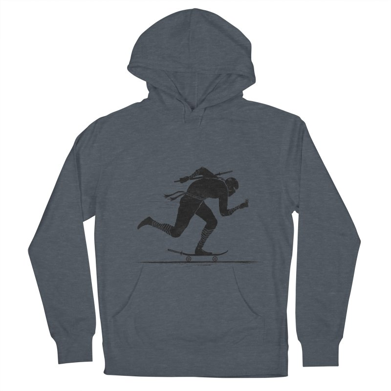 NINJA SKATER Women's French Terry Pullover Hoody by RL76