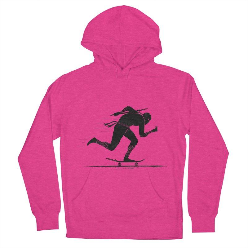 NINJA SKATER Women's Pullover Hoody by RL76