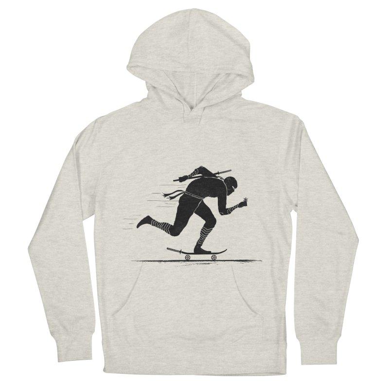 NINJA SKATER Men's French Terry Pullover Hoody by RL76
