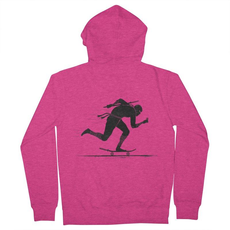 NINJA SKATER Women's Zip-Up Hoody by RL76