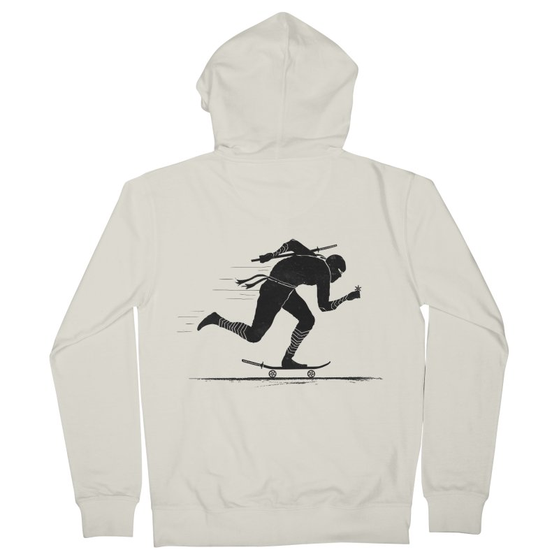 NINJA SKATER Women's French Terry Zip-Up Hoody by RL76