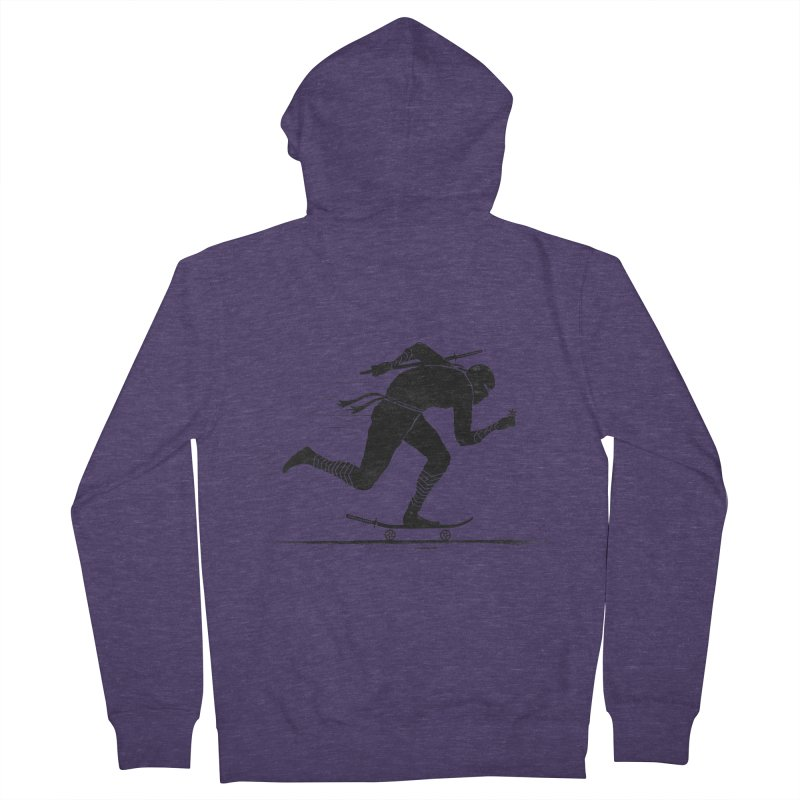 NINJA SKATER Men's Zip-Up Hoody by RL76