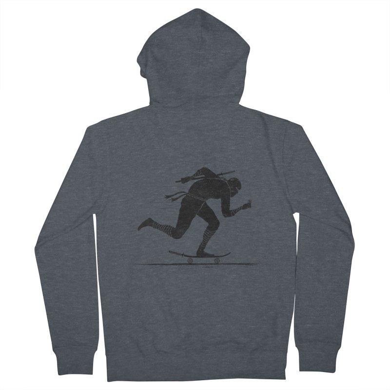 NINJA SKATER Men's Zip-Up Hoody by RL76