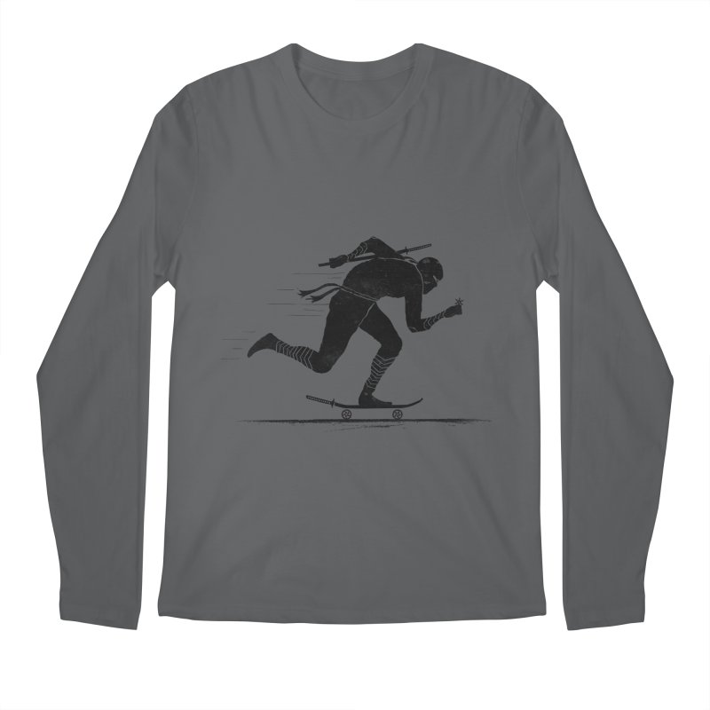 NINJA SKATER Men's Longsleeve T-Shirt by RL76