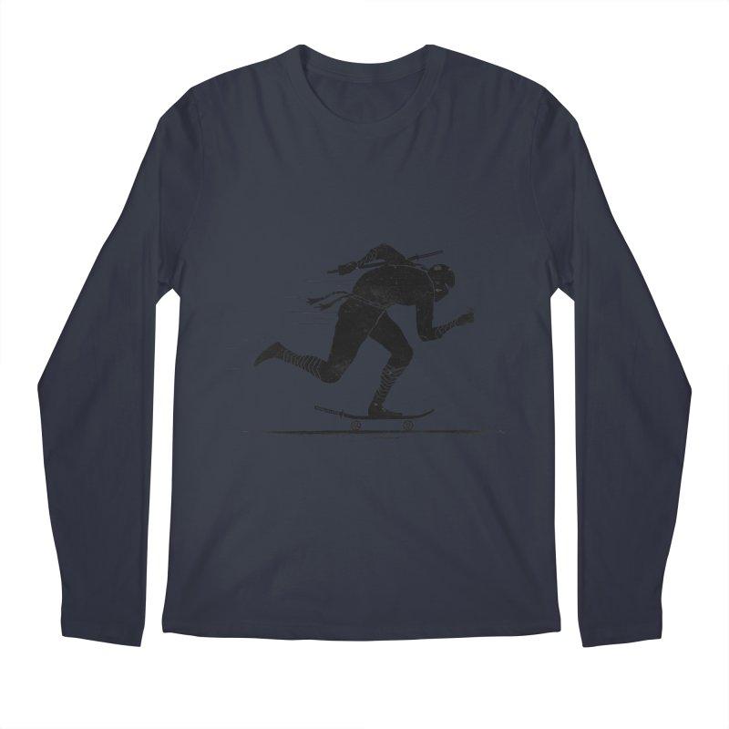 NINJA SKATER Men's Regular Longsleeve T-Shirt by RL76
