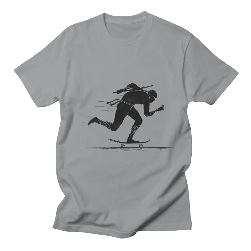 NINJA SKATER Men's Regular T-Shirt by RL76