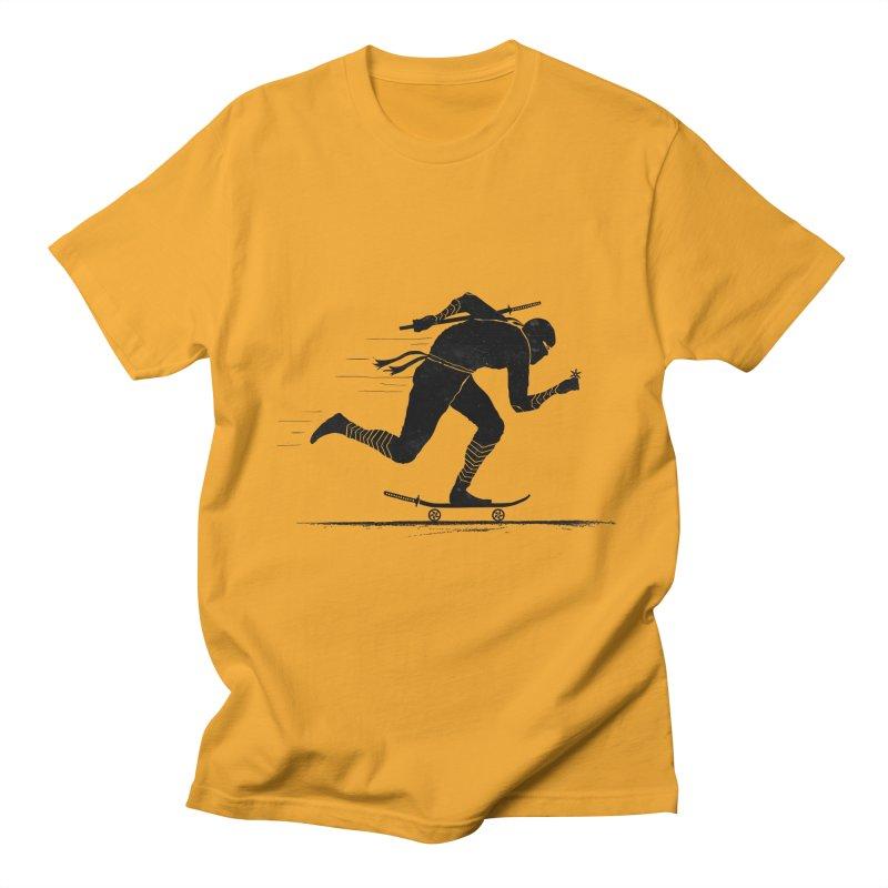 NINJA SKATER Men's Regular T-Shirt by RL76