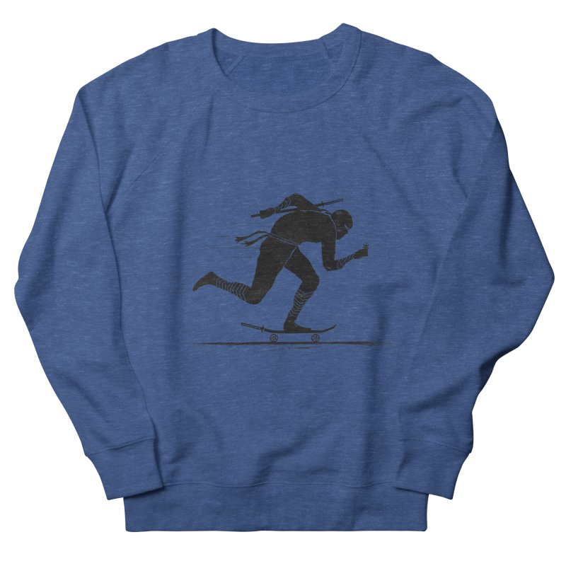 NINJA SKATER Women's French Terry Sweatshirt by RL76
