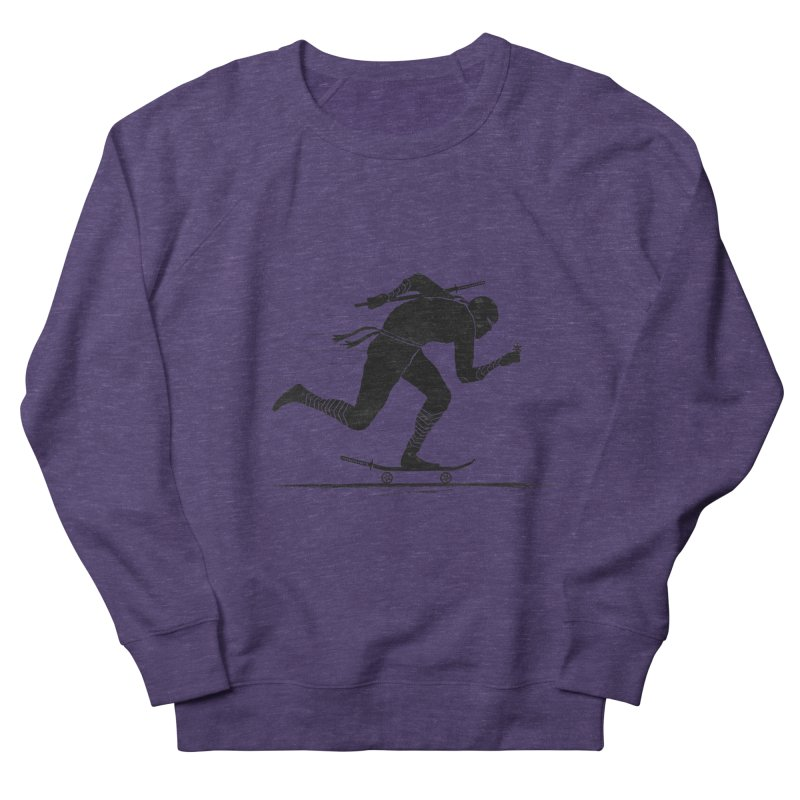 NINJA SKATER Women's Sweatshirt by RL76