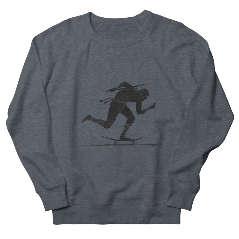 NINJA SKATER Men's Sweatshirt by RL76