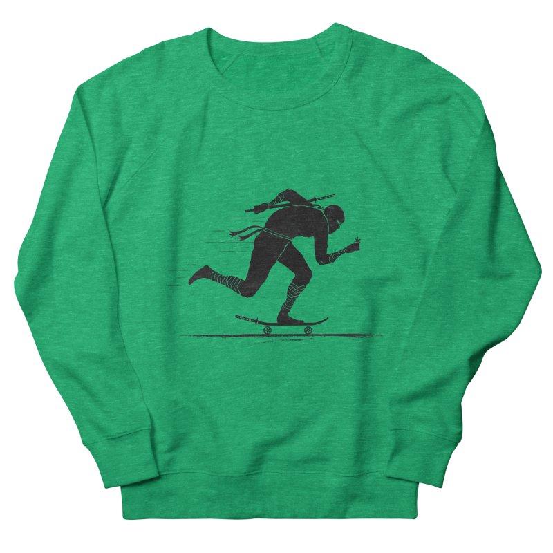NINJA SKATER Men's French Terry Sweatshirt by RL76