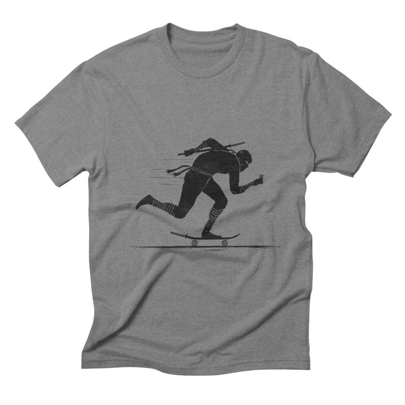 NINJA SKATER Men's Triblend T-Shirt by RL76