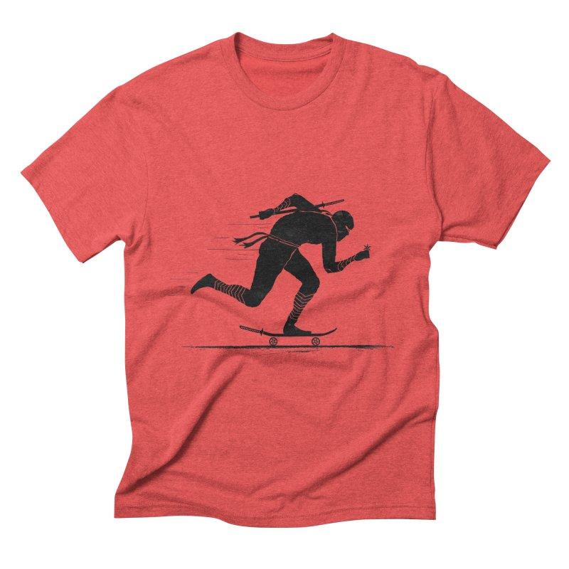 NINJA SKATER Men's Triblend T-shirt by RL76