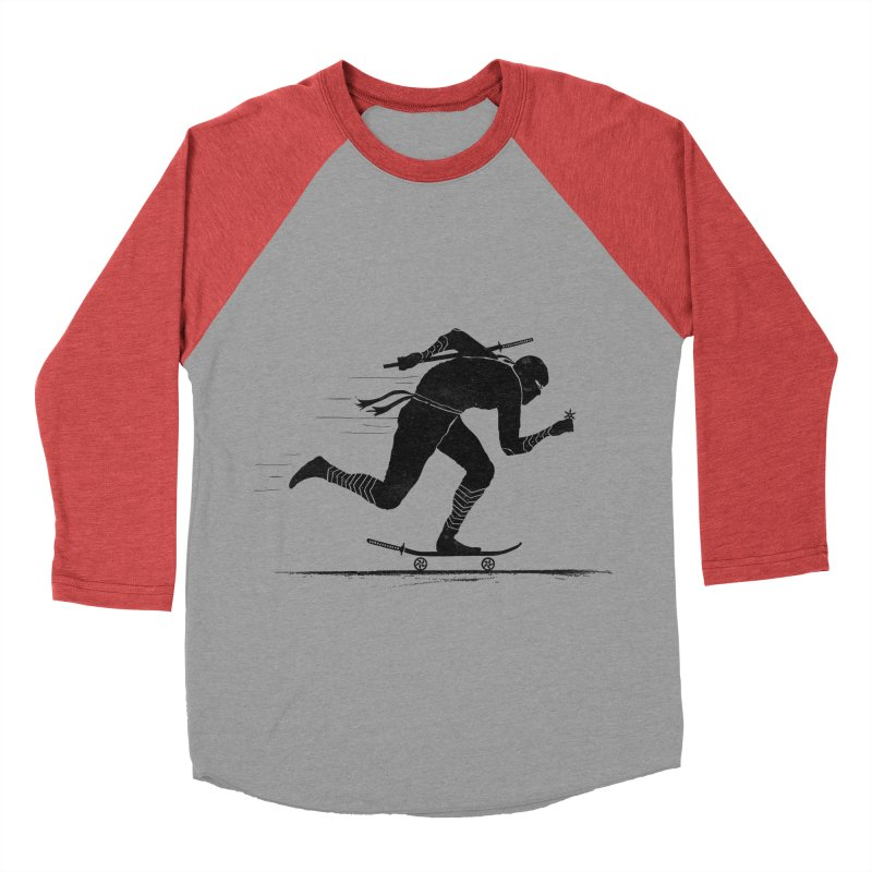 NINJA SKATER Men's Longsleeve T-Shirt by RL76