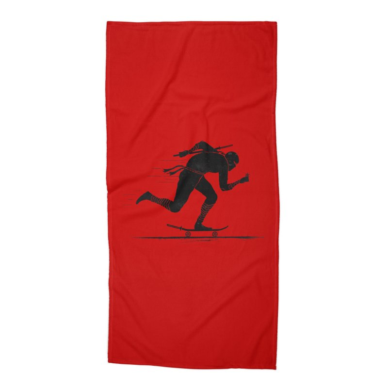 NINJA SKATER Accessories Beach Towel by RL76