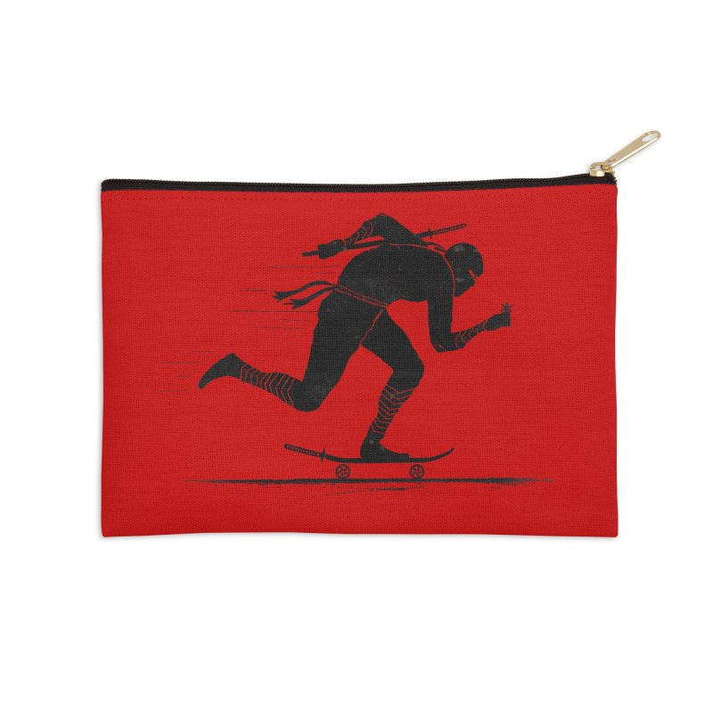 NINJA SKATER Accessories Zip Pouch by RL76