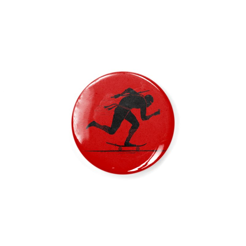 NINJA SKATER Accessories Button by RL76