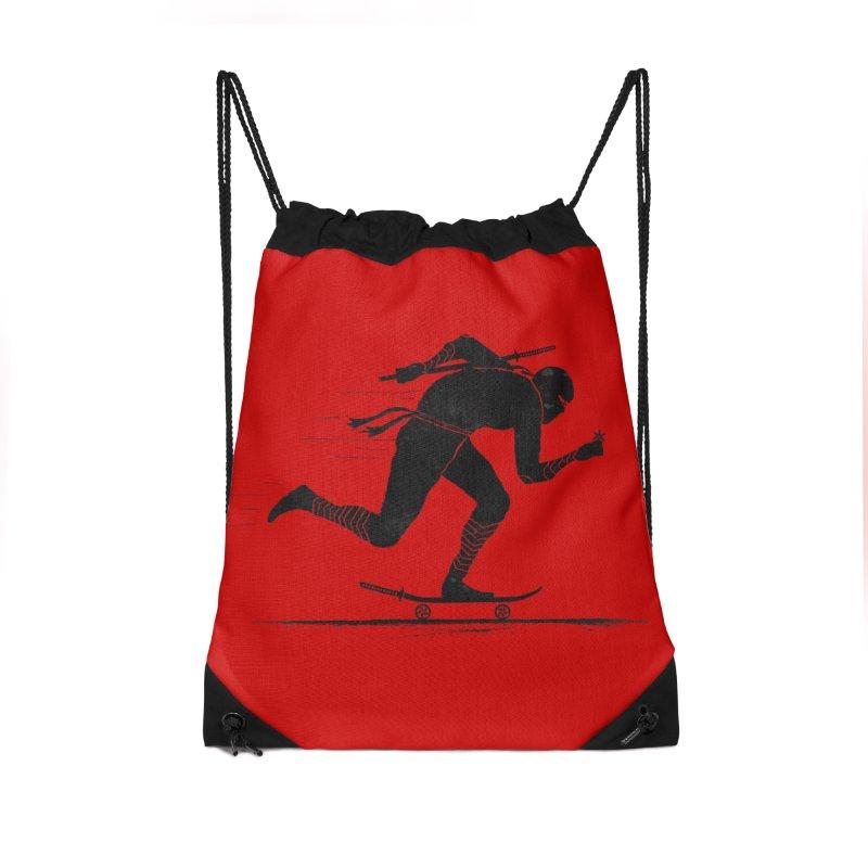 NINJA SKATER Accessories Drawstring Bag Bag by RL76