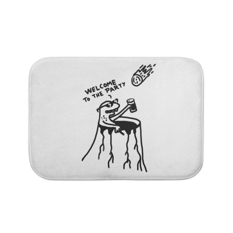 Welcome to the party Home Bath Mat by RL76