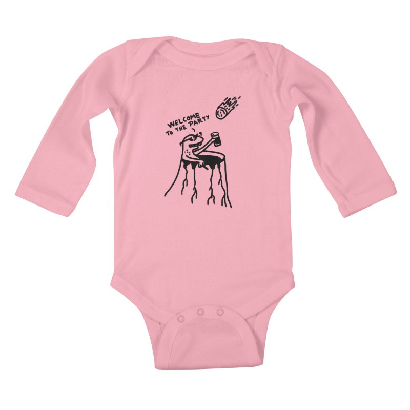 Welcome to the party Kids Baby Longsleeve Bodysuit by RL76