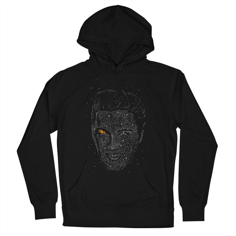 Elvis Superstar Men's French Terry Pullover Hoody by RL76