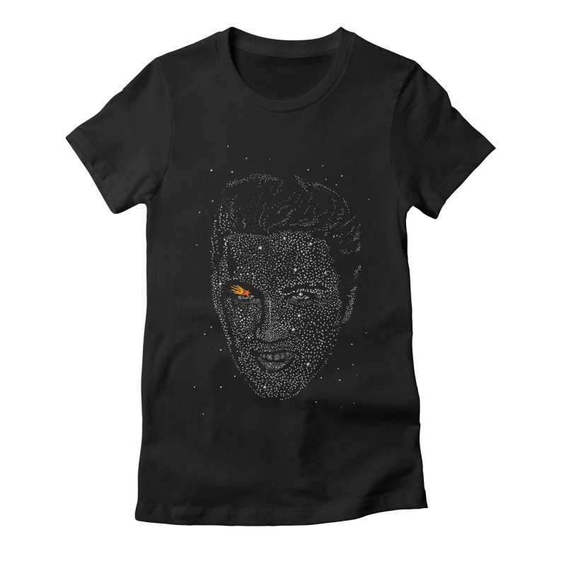 Elvis Superstar Women's Fitted T-Shirt by RL76