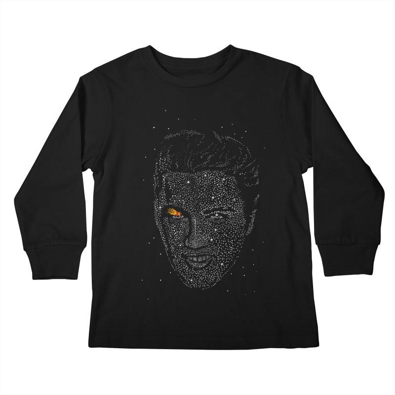 Elvis Superstar Kids Longsleeve T-Shirt by RL76