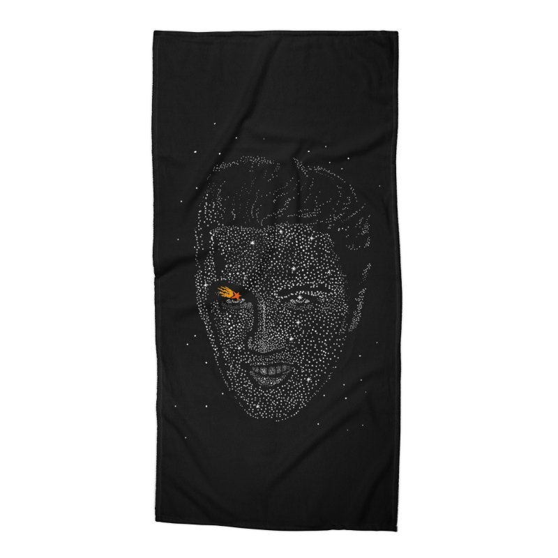 Elvis Superstar Accessories Beach Towel by RL76