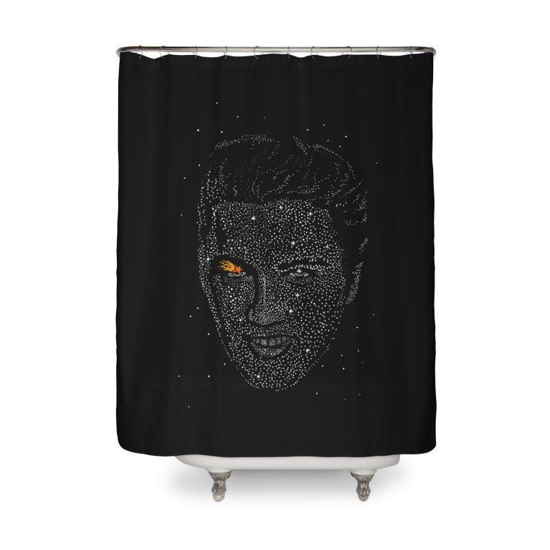 Elvis Superstar Home Shower Curtain by RL76