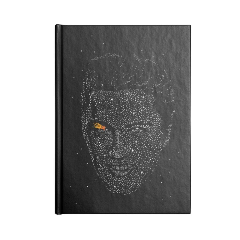 Elvis Superstar Accessories Lined Journal Notebook by RL76