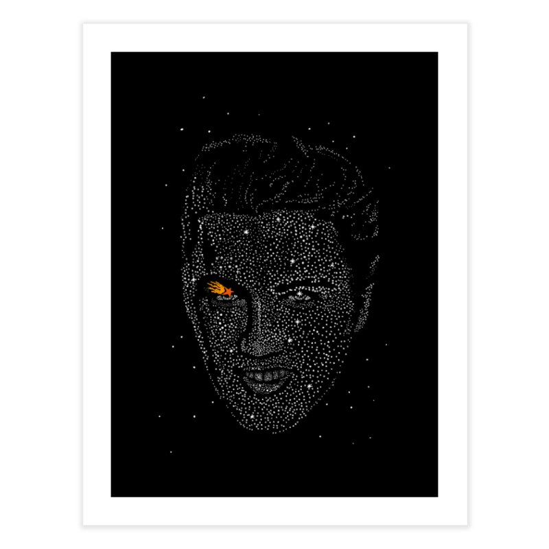 Elvis Superstar Home Fine Art Print by RL76