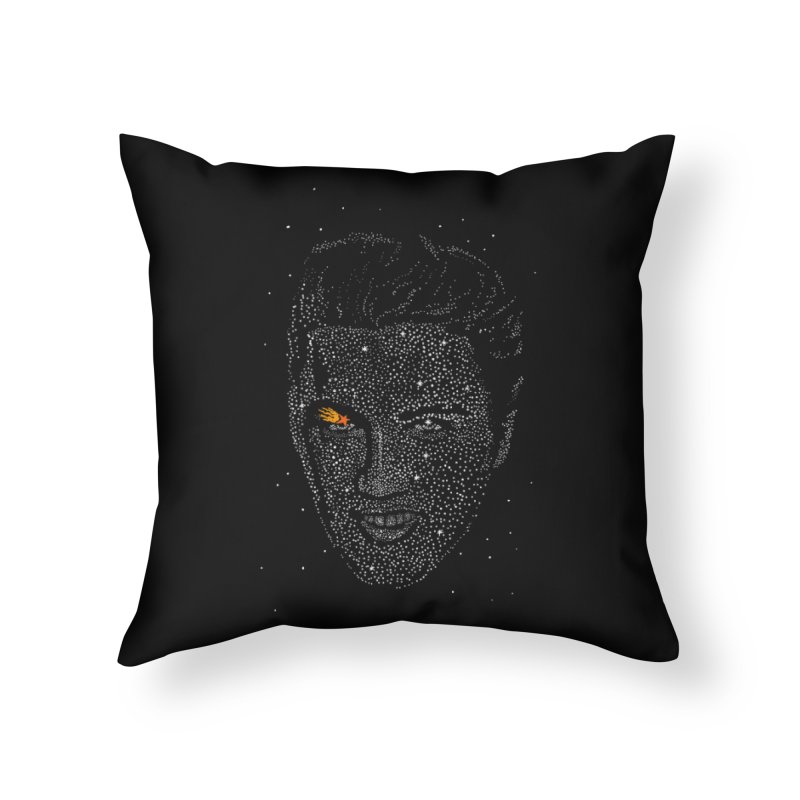 Elvis Superstar Home Throw Pillow by RL76