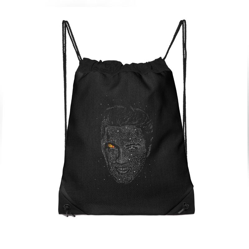 Elvis Superstar Accessories Drawstring Bag Bag by RL76