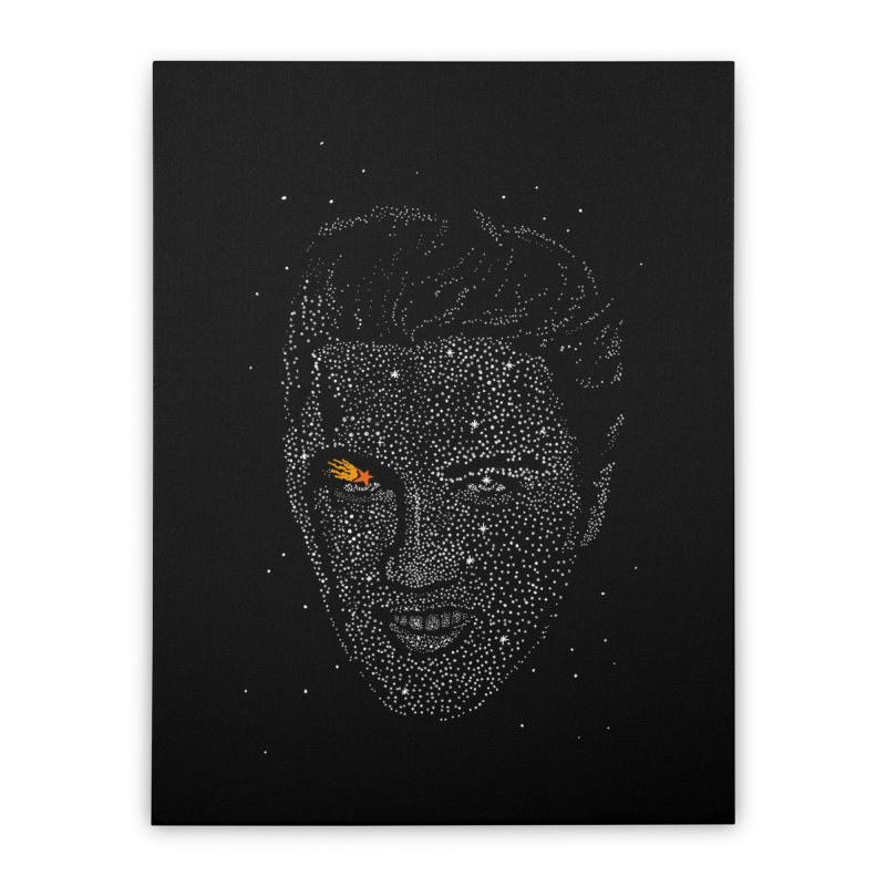 Elvis Superstar Home Stretched Canvas by RL76