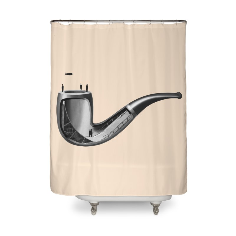 THIS IS NOT A HALFPIPE Home Shower Curtain by RL76
