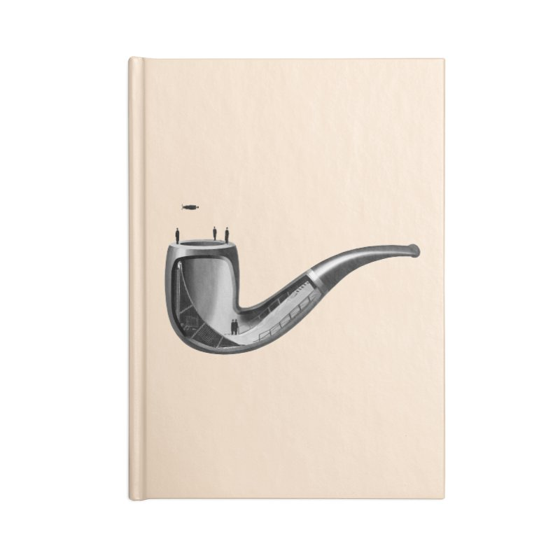 THIS IS NOT A HALFPIPE Accessories Lined Journal Notebook by RL76