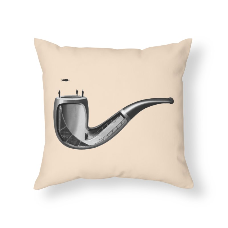 THIS IS NOT A HALFPIPE Home Throw Pillow by RL76