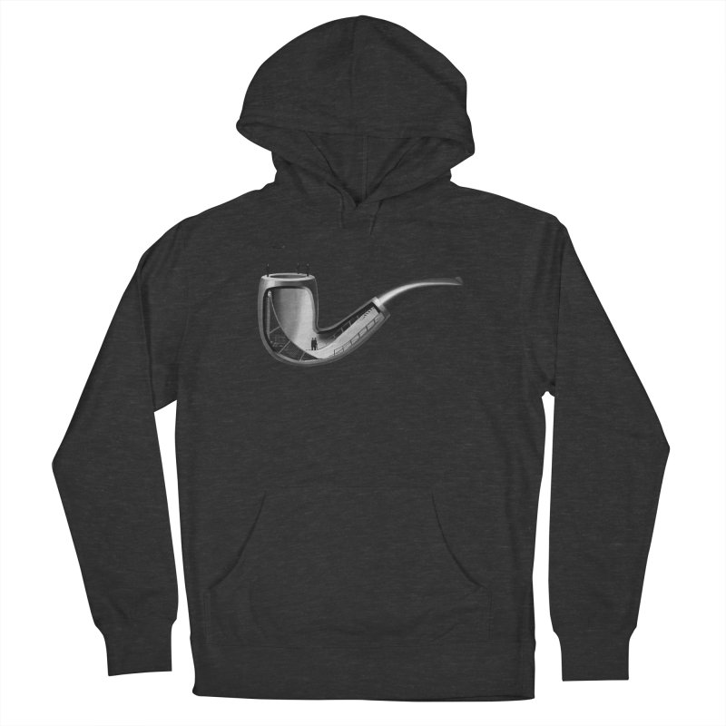 THIS IS NOT A HALFPIPE Women's French Terry Pullover Hoody by RL76