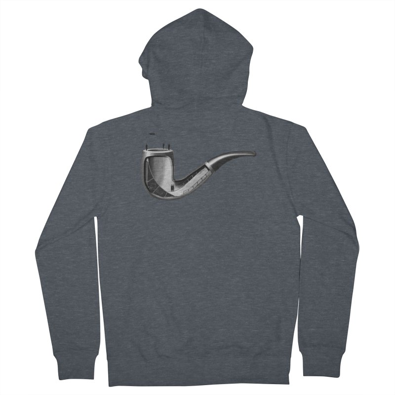 THIS IS NOT A HALFPIPE Women's French Terry Zip-Up Hoody by RL76